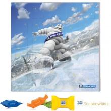 Adventskalender Quatratisch Ritter Sport Werbeartikel