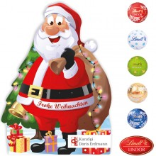 Adventskalender Weihnachtsmann mit Lindt