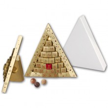 Trueffel Dreieck-Adventskalender