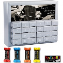 Adventskalender Exquisit mit Lind HELLO Minis