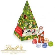 Präsent Weihnachtsbaum Lindt Minis, inkl. 4-farbigem Druck