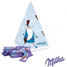 Präsent Weihnachtsbaum Milka, inkl. 4-farbigem Druck