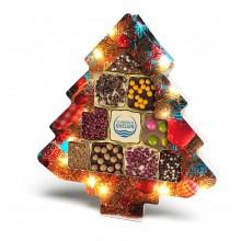Schokini Weihnachtsbaum standard , inkl. 4-farbigem Druck