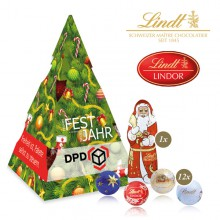 Weihnachtsbaum mit Lindt Minis