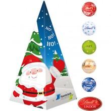 Adventskalender Weihnachtspyramide Lindt Minis